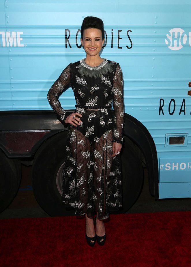 Carla Gugino: Roadies LA Premiere -15