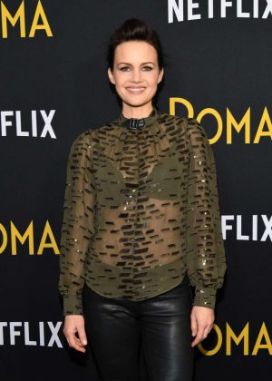 Carla Gugino - 'Roma' Screening in New York