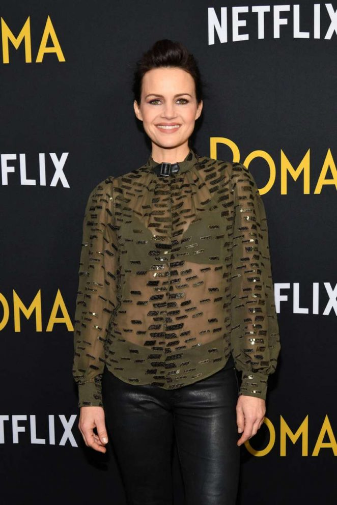 Carla Gugino – 'Roma' Screening in New York