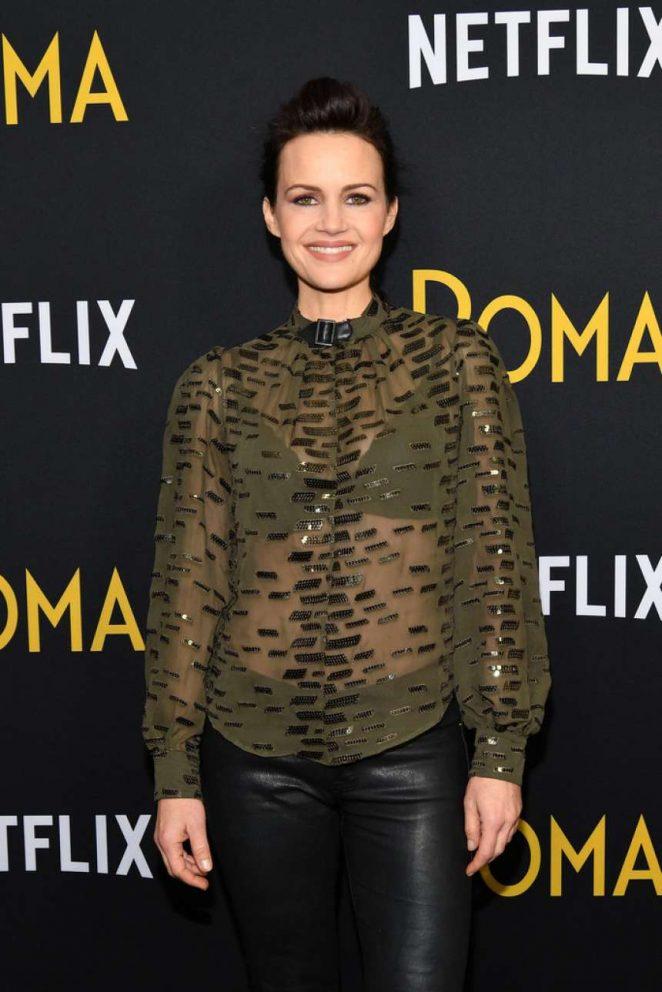 Carla Gugino - 'Roma' Screening in New York