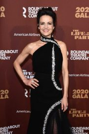Carla Gugino - Roundabout Theater's 2020 Gala in NYC