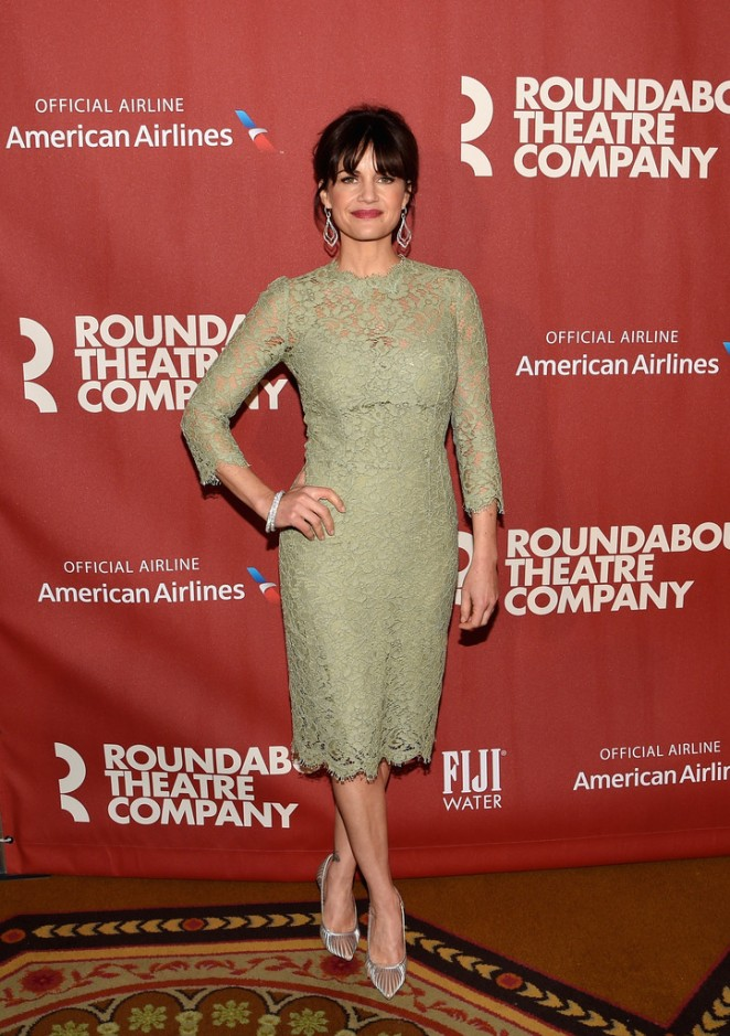 Carla Gugino - Roundabout Theatre Company's 2015 Spring Gala in NYC