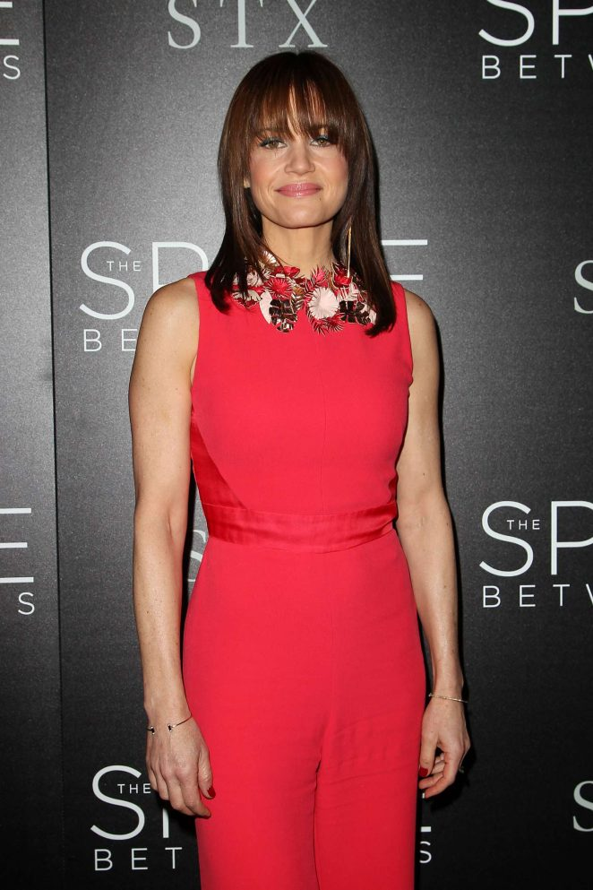 Carla Gugino - 'The Space Between Us' Premiere in New York