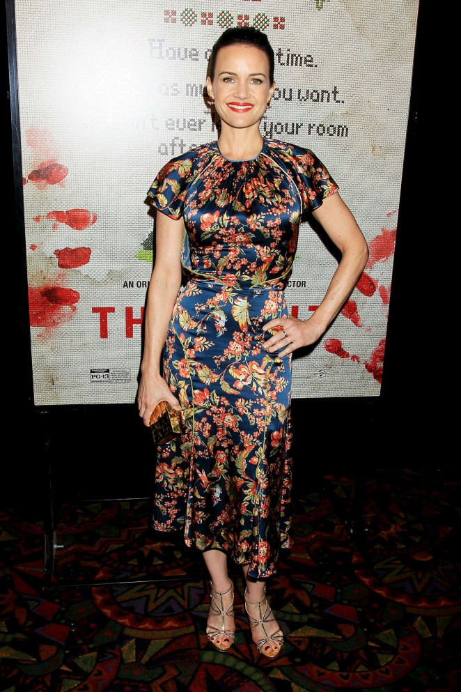 Carla Gugino - 'The Visit' Premiere in New York City