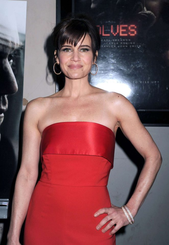 Carla Gugino - 'Wolves' Screening in New York