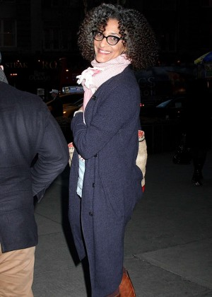Carla Hall out in New York
