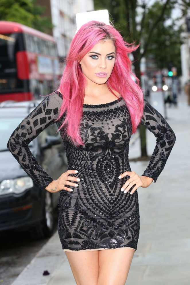 Carla Howe Attends Atomic Blonde Event in London