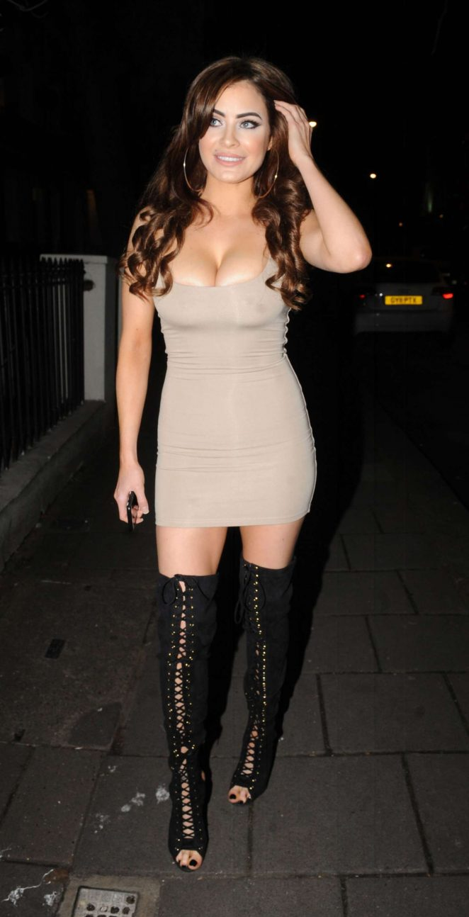 Carla howe in mini dress atomic blonde film event at village underground in london new pictures