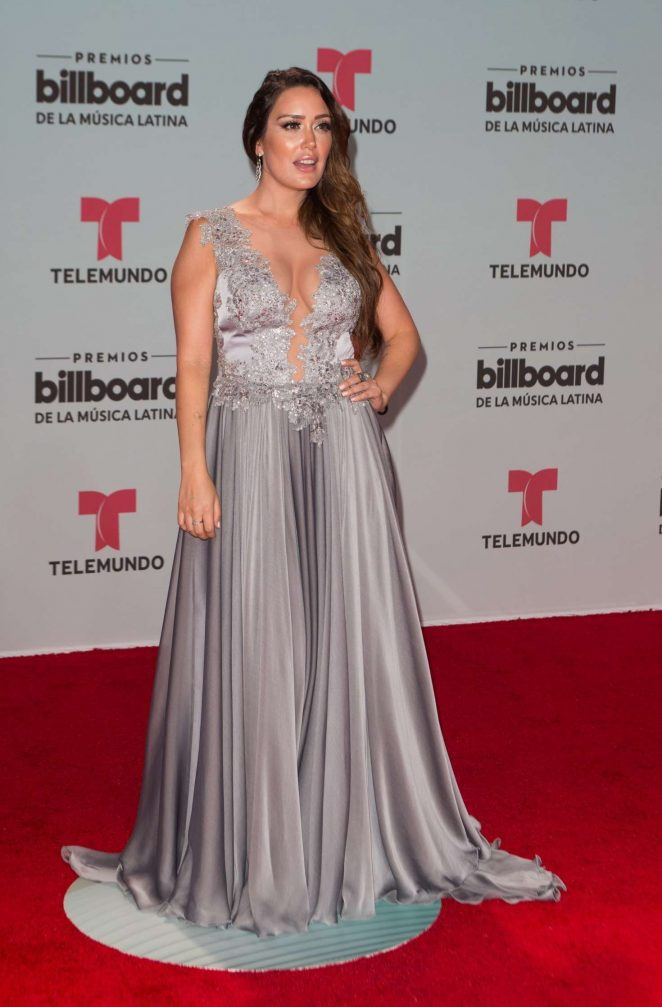 Carla Medina - 2017 Billboard Latin Music Awards in Miami