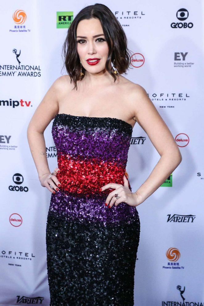 Carla Medina - 46th International Emmy Awards Gala in New York