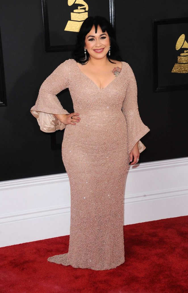 Carla Morrison - 59th GRAMMY Awards in Los Angeles