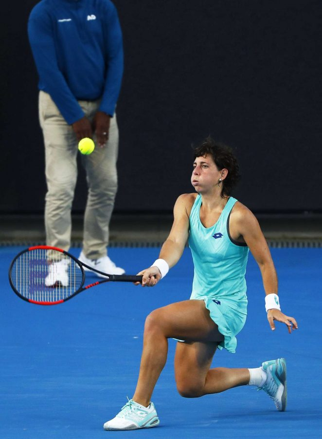 Carla Suarez Navarro - 2018 Australian Open Grand Slam in Melbourne - Day 3