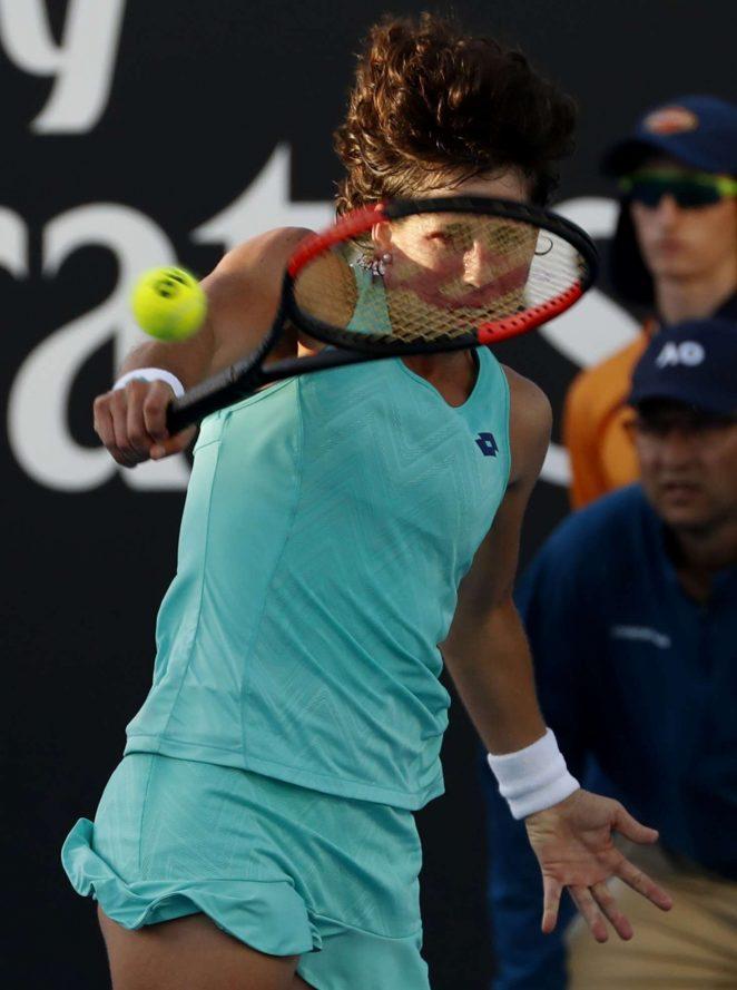 Carla Suarez Navarro - 2018 Australian Open in Melbourne - Day 5