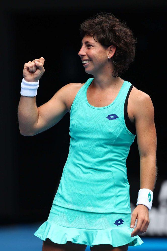 Carla Suarez Navarro - 2018 Australian Open in Melbourne - Day 7