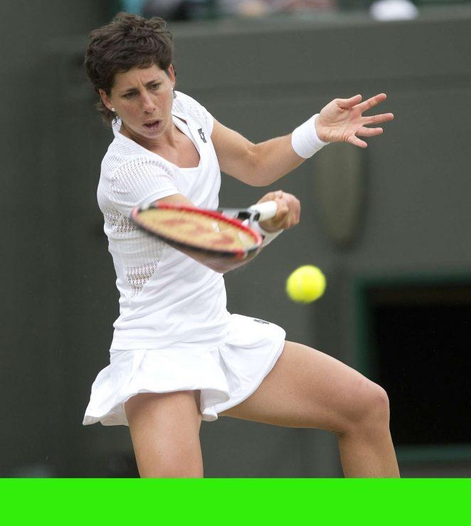 Carla Suarez Navarro - 4th Round Match 2016 in Wimbledon