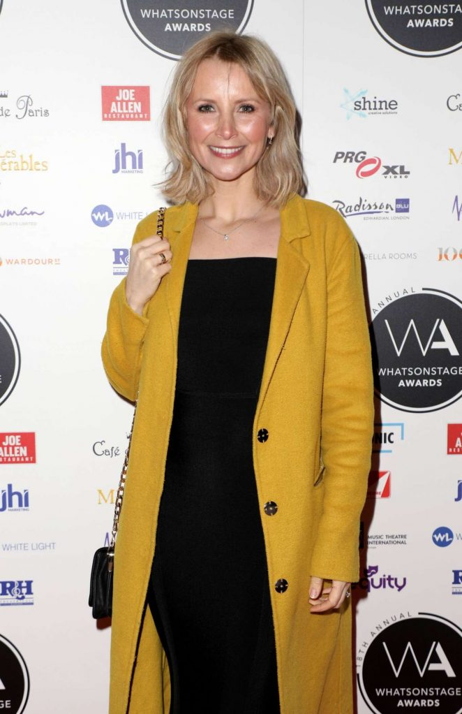 Carley Stenson - 2018 Whatsonstage Awards in London