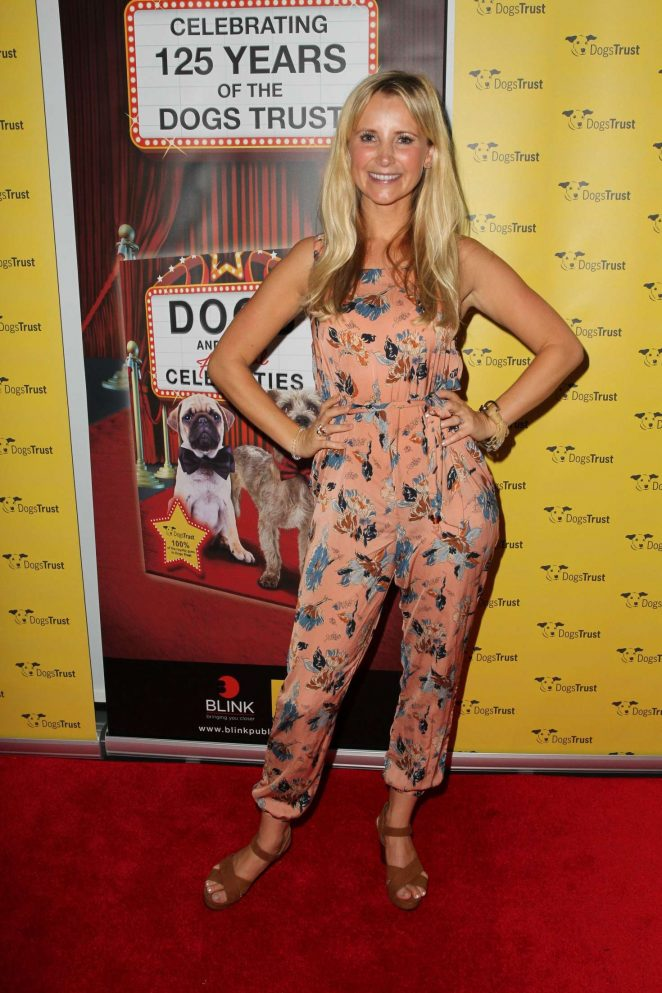 Carley Stenson - The Dogs And Their Faithful Celebrities Event in London