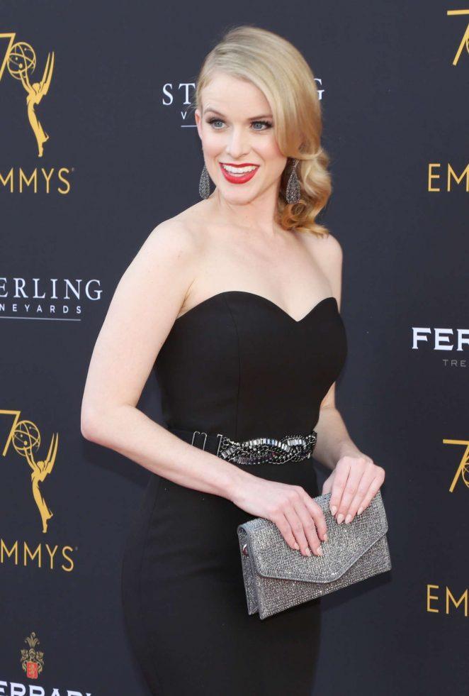 Carlie Craig - 70th Los Angeles Area Emmy Awards in LA