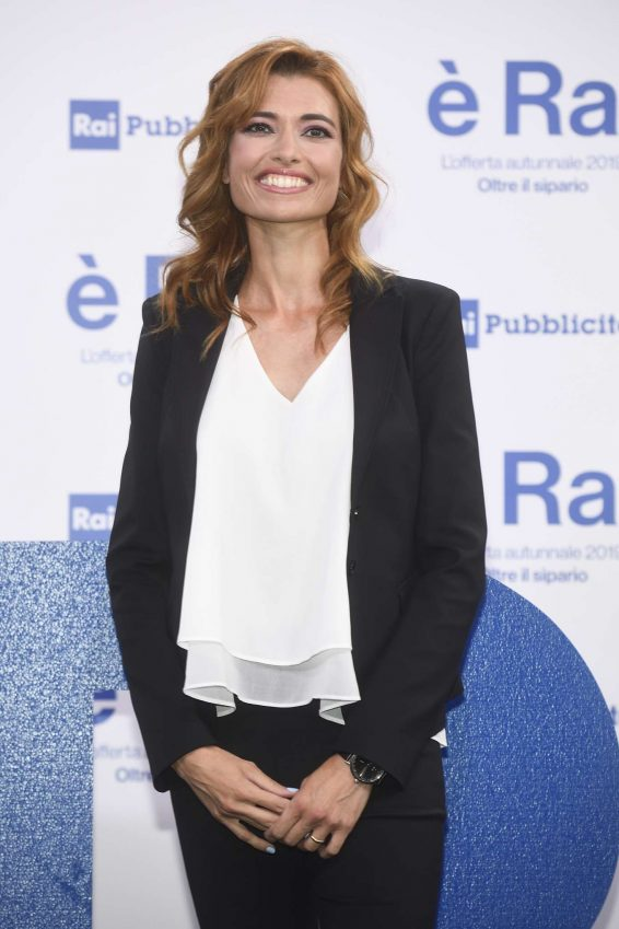 Carlotta Mantovan - RAI Programming Launch in Milan