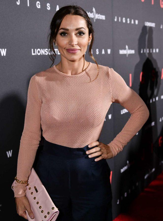 Carlotta Montanari - 'Jigsaw' Premiere in Los Angeles