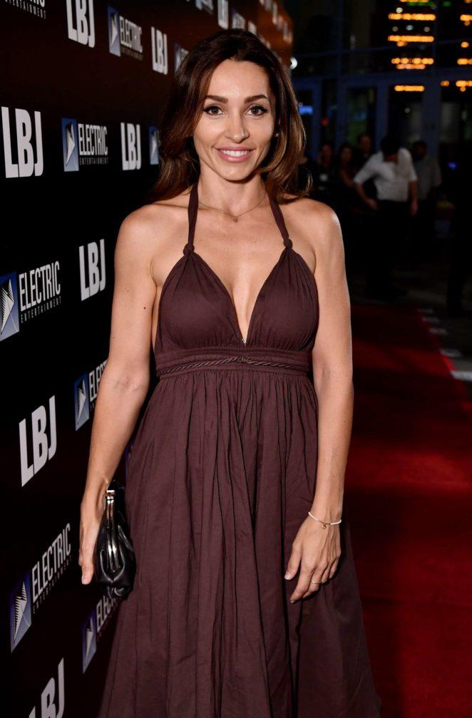 Carlotta Montanari - 'LBJ' Premiere in Los Angeles
