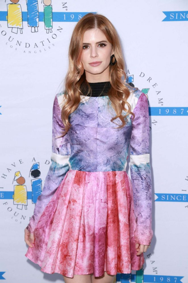 Carlson Young - 'I Have A Dream' Foundation Dinner in Los Angeles