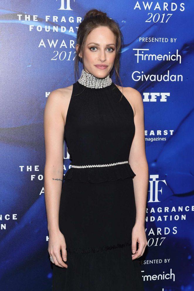 Carly Chaikin – 2017 Fragrance Foundation Awards in New York City