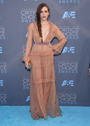 Carly Chaikin - 2016 Critics' Choice Awards in Santa Monica