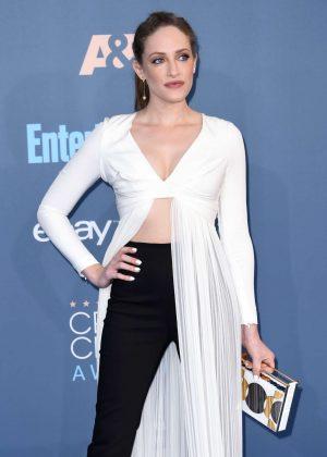 Carly Chaikin - 22nd Annual Critics' Choice Awards in Los Angeles