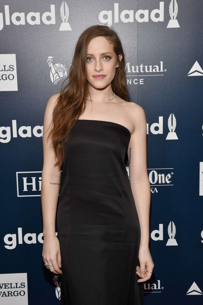 Carly Chaikin - 28th Annual GLAAD Media Awards in New York City