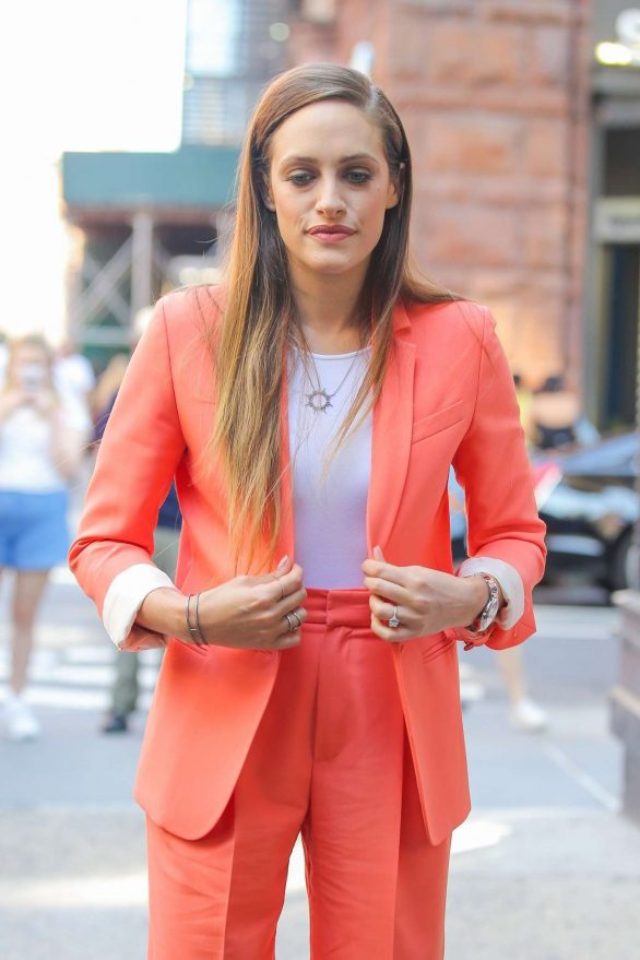 Carly Chaikin - Arrives at AOL Build in New York