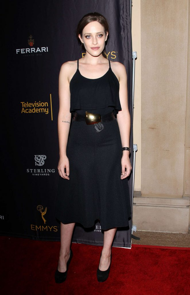 Carly Chaikin - Casting & Music Nominee Receptions by the Television Academy in LA