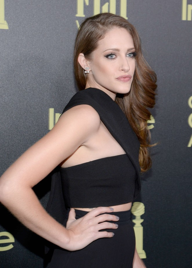 Carly Chaikin - HFPA And InStyle Celebrate The 2016 Golden Globe Award Season in West Hollywood