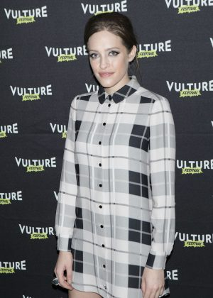 Carly Chaikin - Inside Mr. Robot at 2016 Vulture Festival in New York