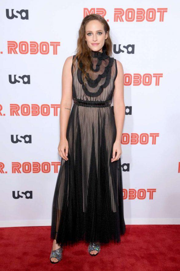 Carly Chaikin - 'Mr. Robot' Season 4 Premiere in NYC