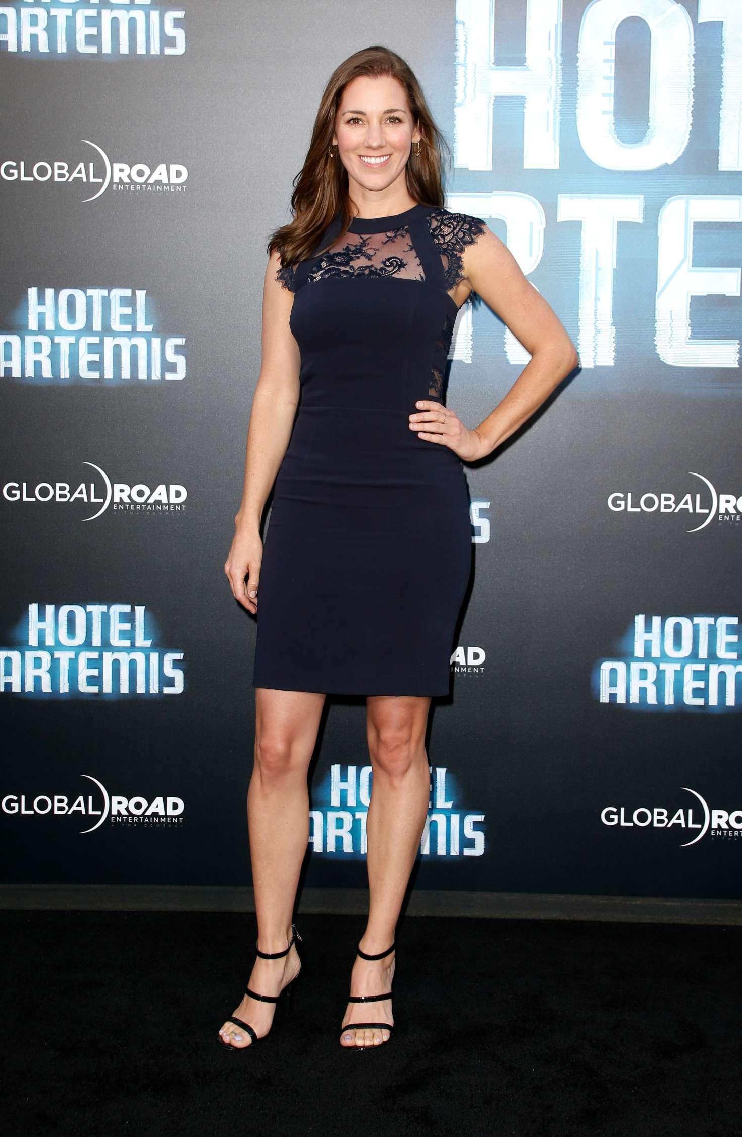 Carly Craig - 'Hotel Artemis' Premiere in Los Angeles