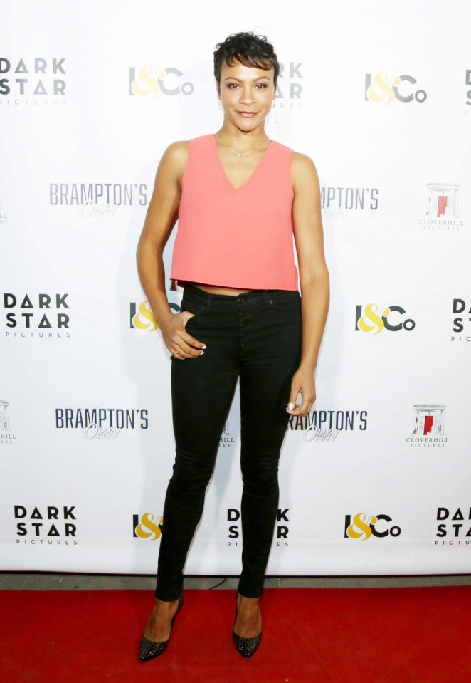 Carly Hughes - 'Brampton's Own' Premiere in Los Angeles