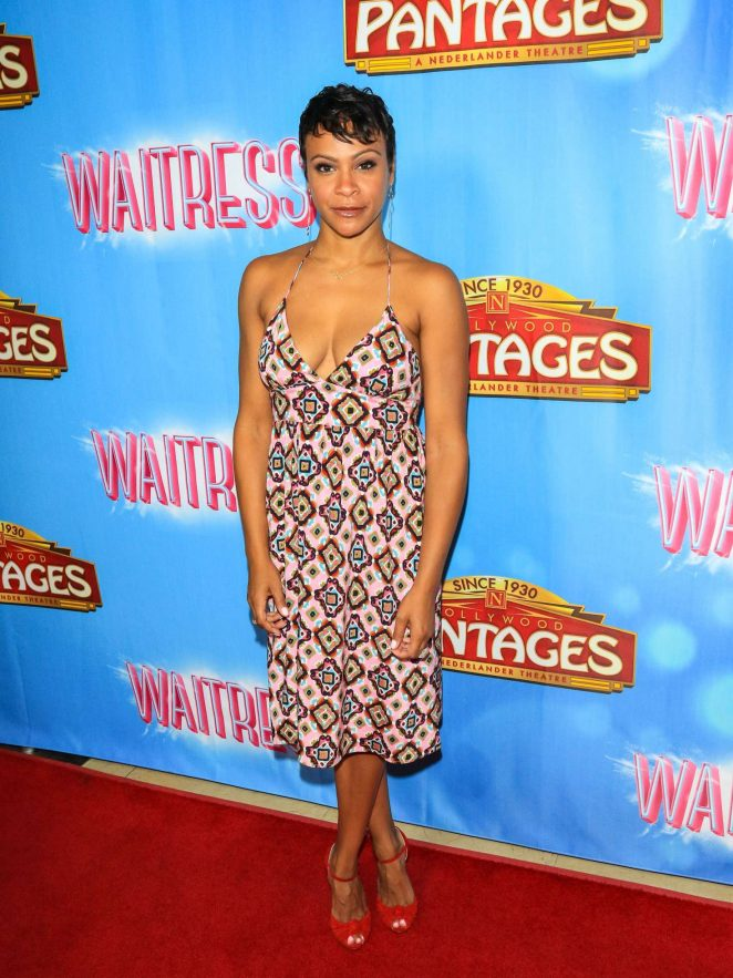 Carly Hughes - The National Tour of 'Waitress' in Hollywood