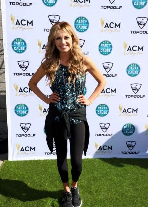 Carly Pearce - ACM Lifting Lives TOPGOLF Tee-Off in Las Vegas
