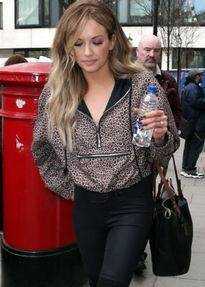 Carly Pearce - Leaving BBC Radio 2 Studios in London