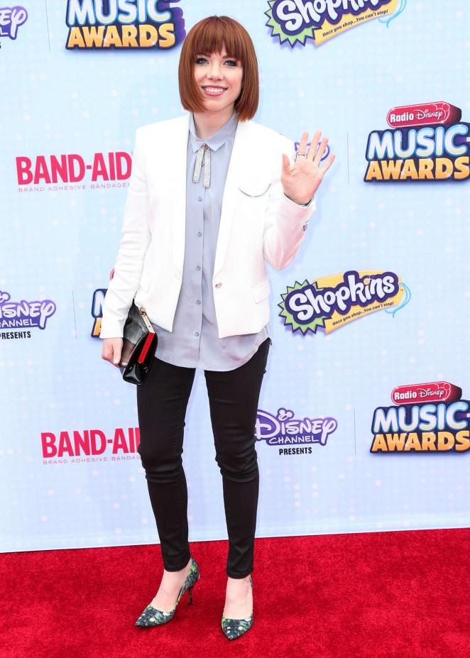 Carly Rae Jepsen - 2015 Radio Disney Music Awards in LA