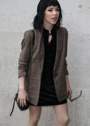 Carly Rae Jepsen at BBC Radio 1 Studio in London