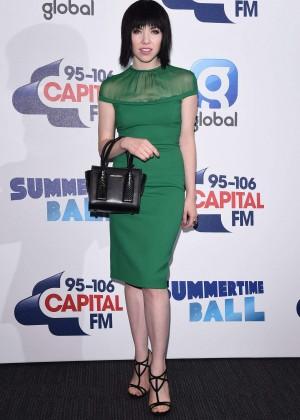 Carly Rae Jepsen - Capital FM Summertime Ball in London