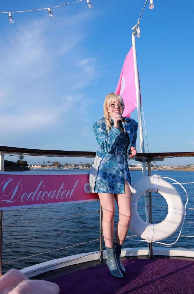 Carly Rae Jepsen - Celebrates her upcoming album Dedicated in Marina del Rey