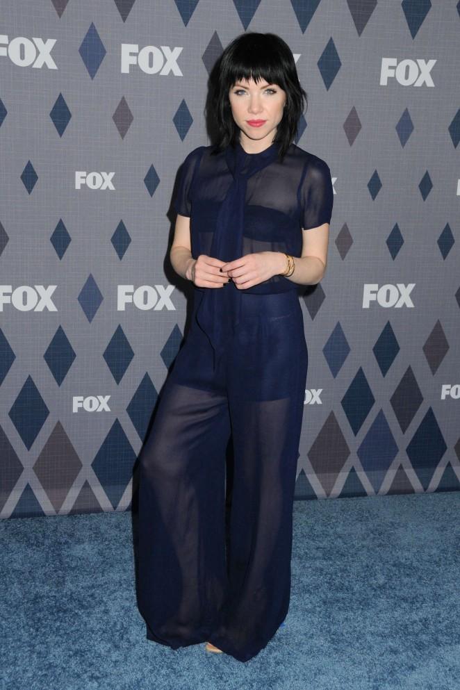Carly Rae Jepsen - FOX TCA Winter 2016 All-Star Party in Pasadena