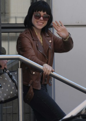 Carly Rae Jepsen - 'NRJ' Studios in Paris