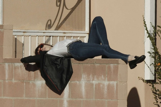 Carly Rae Jepsen in Tight jeans -03