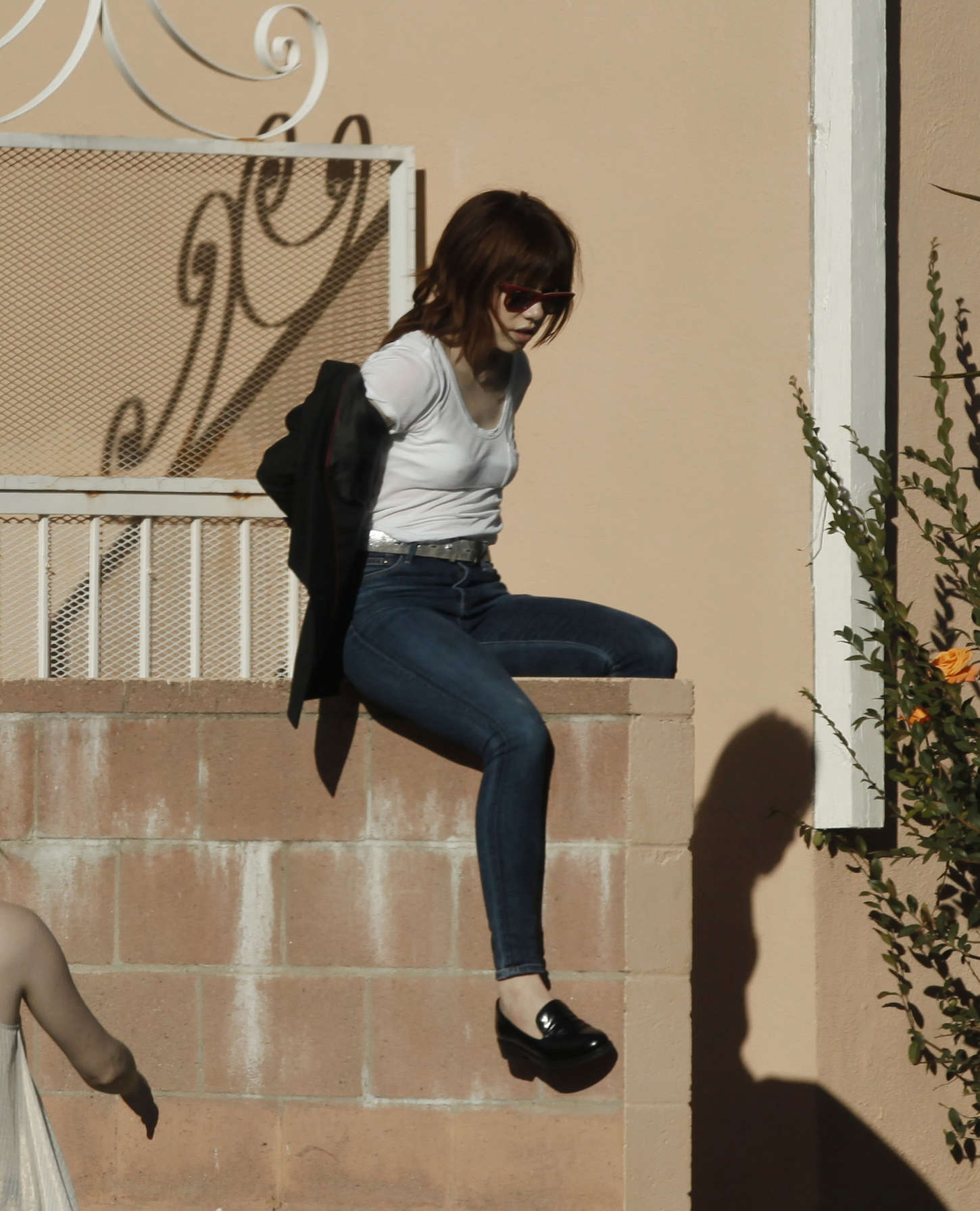 Carly Rae Jepsen In Tight Jeans -11