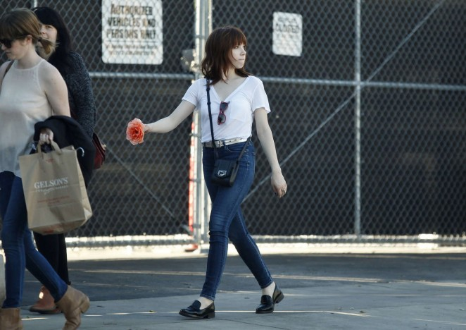 Carly Rae Jepsen in Tight jeans -16