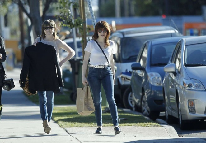 Carly Rae Jepsen in Tight jeans -17